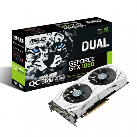 Carte Graphique Asus GeForce DUAL-GTX1060-O3G