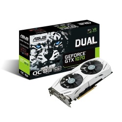 Carte Graphique Asus GeForce GTX 1070 DUAL-GTX1070-O8G