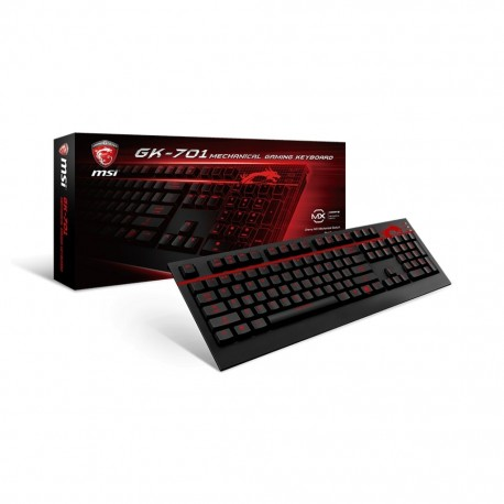 Clavier PC MSI GK-701 GAMING Keyboard
