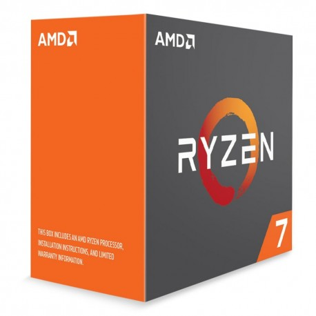 Ryzen 7 1700X - 3.4GHz/16Mo/AM4/Ss ventil./BOX